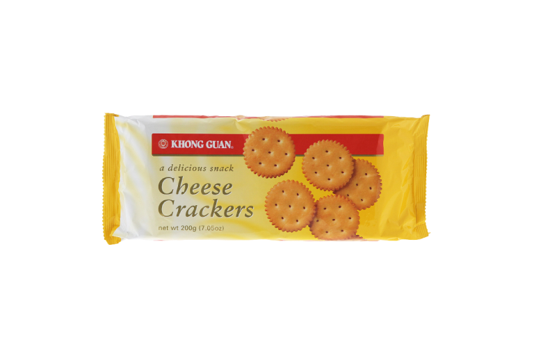 Cheese Crackers 200g