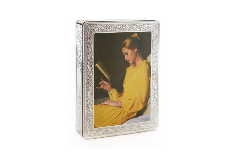 Silver Tin Yellow Lady
